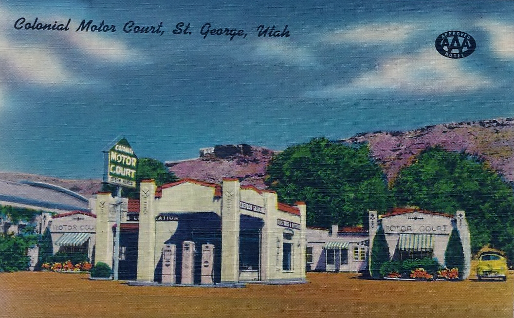ROADSIDE MOTELS - The mom-and-pop motels along western highways in the mid-20th century exemplified the beginnings of a tourism industry that came to define the west. We collect their postcards, photos, and stories.