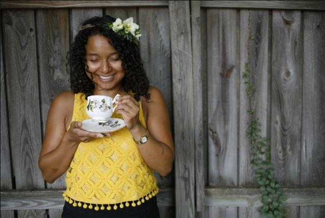 pATRICIA BRADBY OF MISS PRISS TEA -