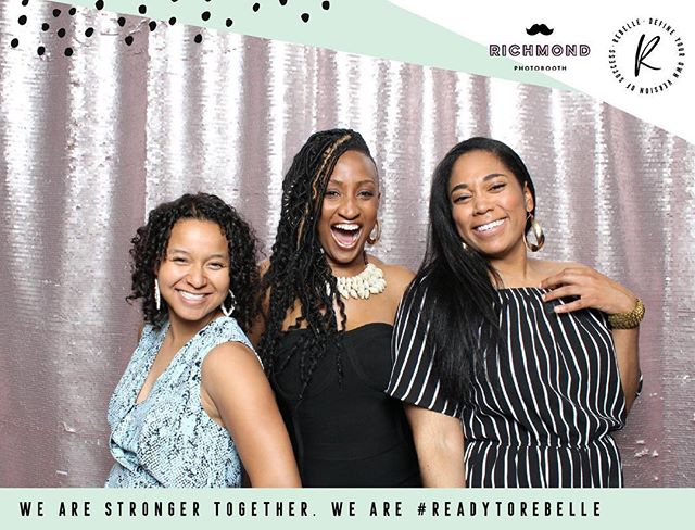 After a long days work and you realize being a woman entrepreneur CAN BE fun! 💃🏽 Loved the kick-off event to @rebellecon — excited for more! ❤️📸 Thanks @richmondphotobooth for capturing this moment! . . . . . . #rebellcom #blackgirlmagic #rva #womeninbusiness #bossbabesrva #bosschic #entrepreneur #networking #rvaevents #womenentrepreneurs #empowerwomen #girlboss #womenofcolor #rvawomen #womenwholead #blackgirlmagic #squadgoals #entrepreneurs #richmondva #rvabusiness