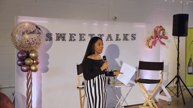 "HEY Ladddiesss 👋🏽🥰...I still CAN'T believe that just last month, the first ever #SweetTalks Live Retreat sponsored by @cupcakevineyards and @sonabankpower was held at @studiotwothree in #RVA and brought together so many amazing women entrepreneurs of color to be inspired and motivated to choose ""Now or Never"" 🤗- Sending another huge THANK YOU to our special guest @dominiquebroadway of @financesdemystified and a panel of phenomenal women: @likethefruit – Creator and Owner of @urbanhangsuiterva @ashleyj_williams – Founder and Owner of @baresoulyoga @ptrishworldwide – Owner of @missprisstea @knckout – Owner of @theglowshoprva . . Another BIG thank you to our amazing Sweet Sponsors @thesweetestthing_rva @carytowncupcakes @poorgeorgiesbakeshoppe - as well as vendors @lunasolcreations @thefitfineflawless @getlaxed and music by @djeaseva 🎵🎶 . . We can't wait for the next one..but in the meantime, catch up on all of the past podcast episodes found on SoundCloud, iTunes, GooglePlay and Spotify! 💕🎙🧁 #SweetTalksLive #tagyourfriends 🎥: @j.maclin [SWIPE👈🏽] . . . . . . #livepodcast #retreat #podcast #podsincolor #womeninbusiness #bossbabesrva #womenofcolor #entrepreneur #networking #rvaevents #womenentrepreneurs #empowerwomen #girlboss #podcasts #inspiration #podcasters #womenwholead #blackgirlmagic #blackpodcast #careergoals #entrepreneurs #dessert #richmondva #dmv #visitrichmond"