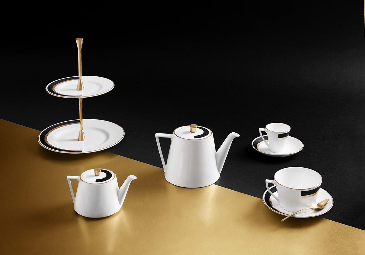 Quintessentially British Bone China - Designed by Richard Brendon Studios in London.Made In Stoke-On-Trent, England.