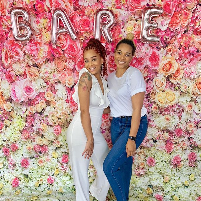 Thank you so much for having me, it was great celebrating @barebehavior_organics 1 year anniversary! You created a space for entrepreneurs to share their work and you're dope for that! ✨ #barebehavior #rosegoldandlemon #womenentrepreneurs