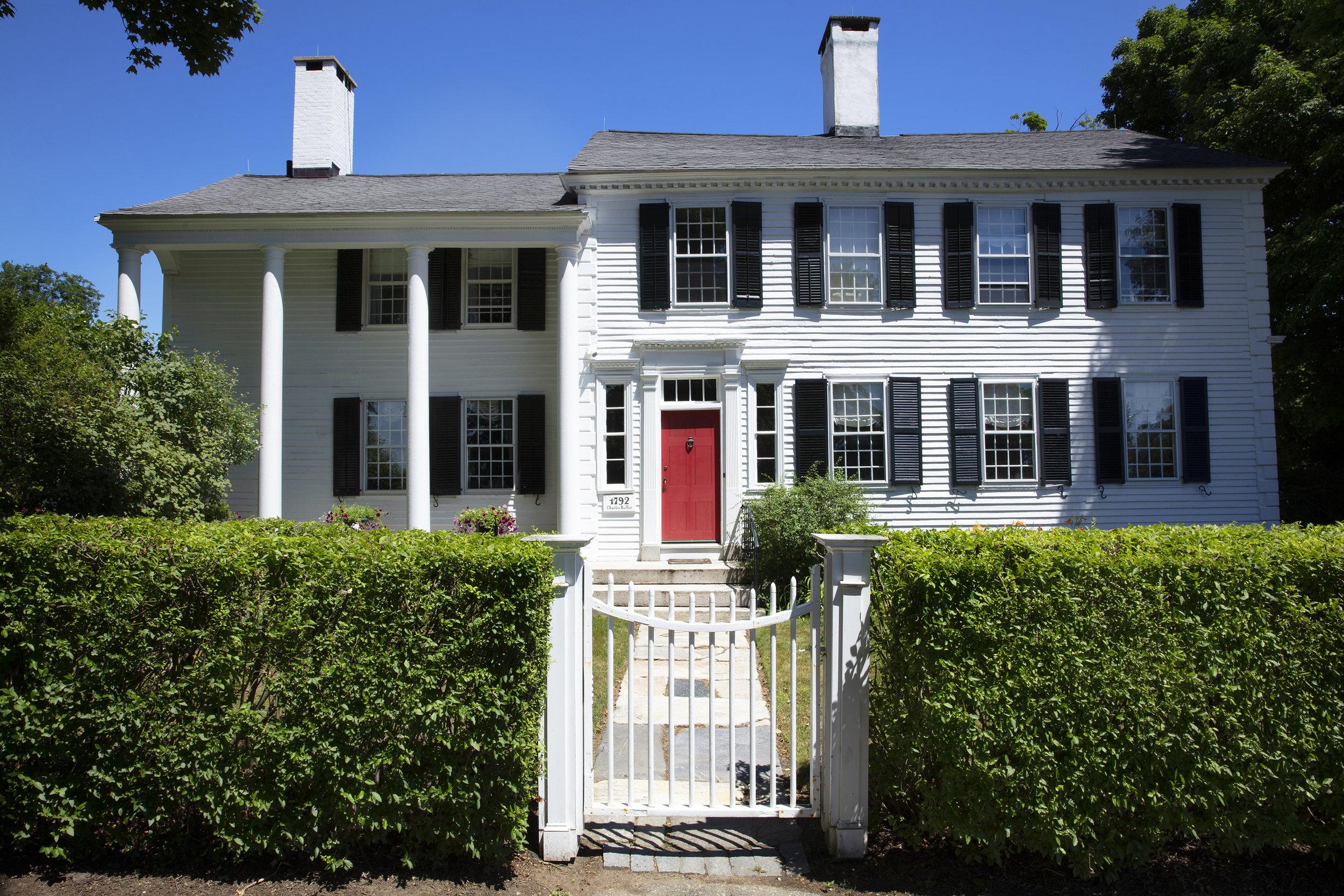 1792.The Charles Butler.Corner House. North Street Facade. Visko Hatfield.jpg
