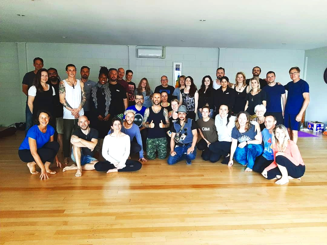 This photo was taken after a sold out Freedom To Be workshop in Auckland New Zealand. Saturday August 10th