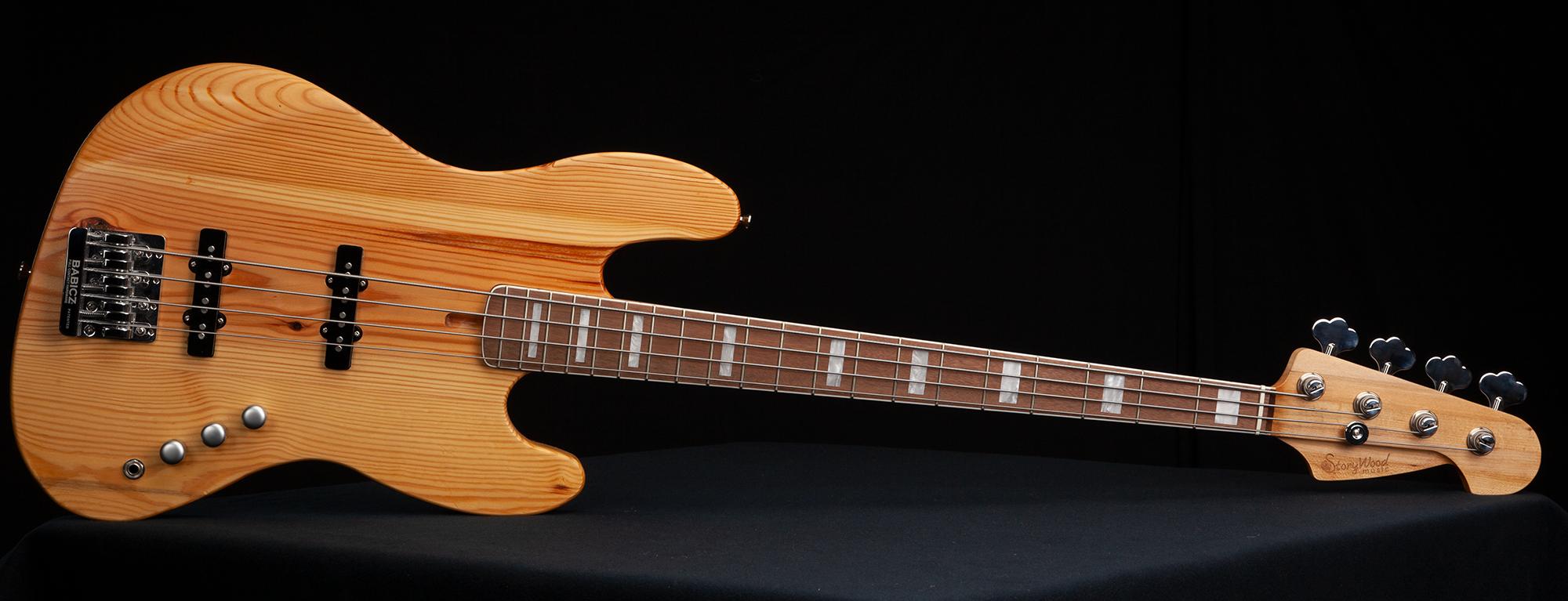StoryWood Standard J Bass w/ upgraded neck