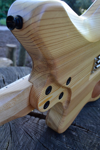 StoryWood 4R-3 reclaimed wood offset tummy cut