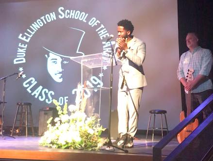 Grammy Award winning bassist and Alumnus of Duke Ellington School - Ben Williams