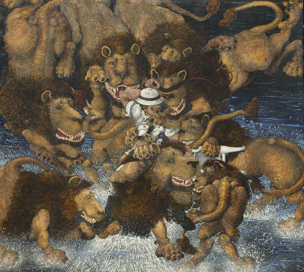 Paul Edwards, Lion Tamer.jpg