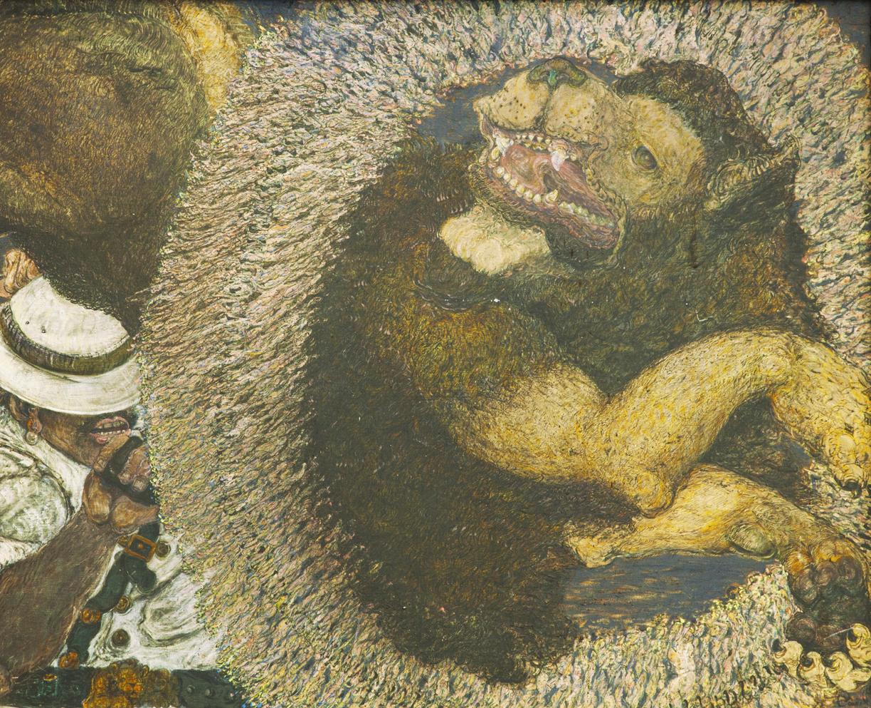 Paul Edwarsda Smaller Lion Tamer.jpg