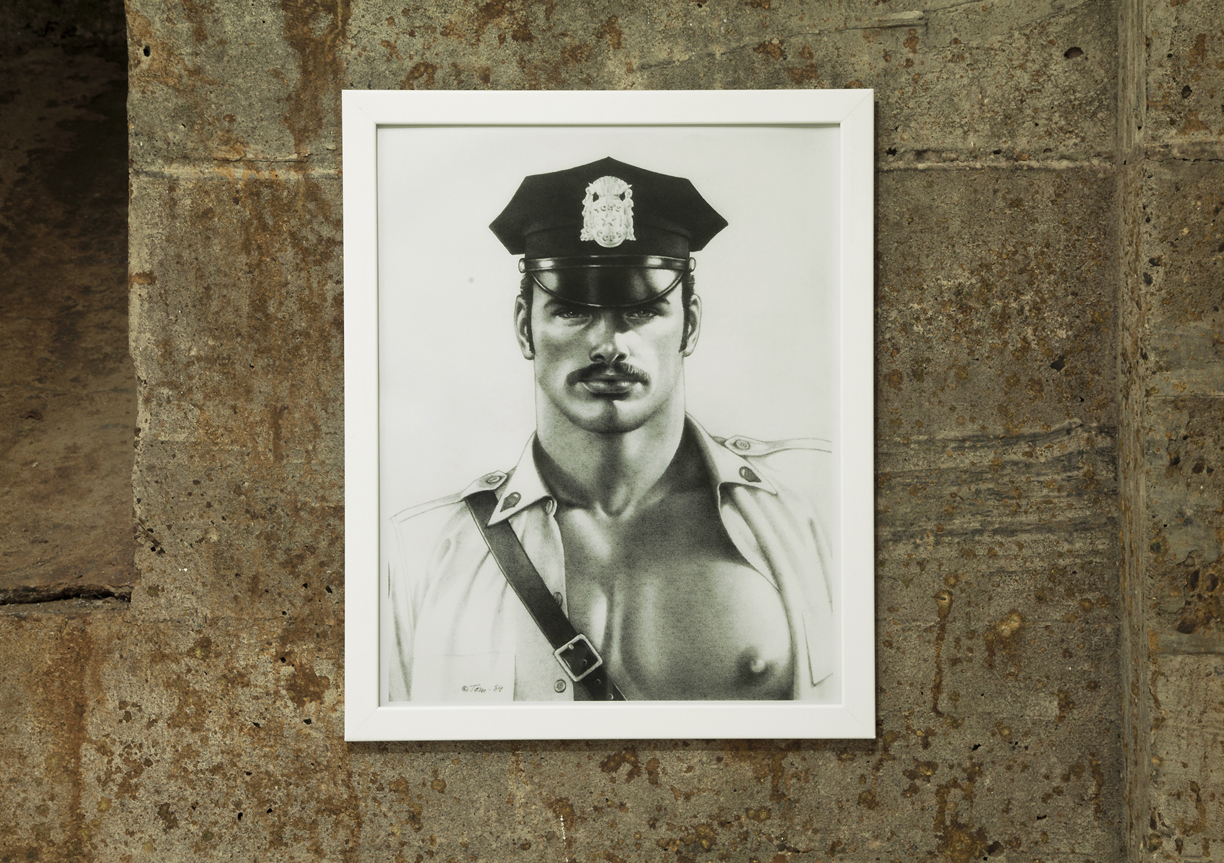 "COPS 3 Tom of Finland, Untitled, 1984, pigment print (2015), 19""x15""  .jpg"