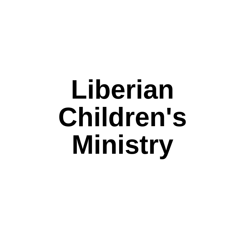 Liberian Children's Ministry Network of Lutheran Churches and Schools Liberia, Africa  Missionary Joe Boway