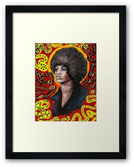 Angela Davis 2019 Digital - Adobe Sketch, iPad Pro, & Apple Pencil.   $$ PURCHASE PRINTS    HERE    $$