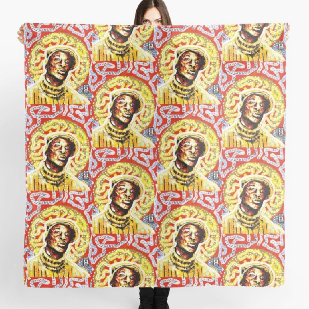 Grand Master Flash Scarf (Size)