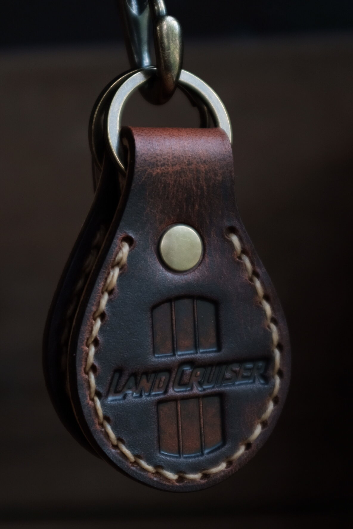 Leather Products - Fobs, console inserts, coozies, travel planners, wallets