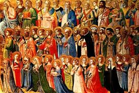 MEET THE SAINTS - Twice a month we learn about saints and discuss how to become saints!