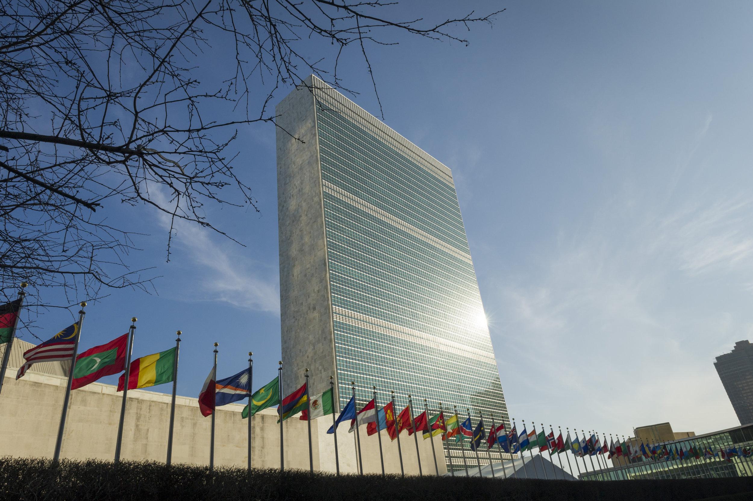 Secretariat Building at United Nations Headquarters. UN Photo/Rick Bajornas, 23 February 2017.
