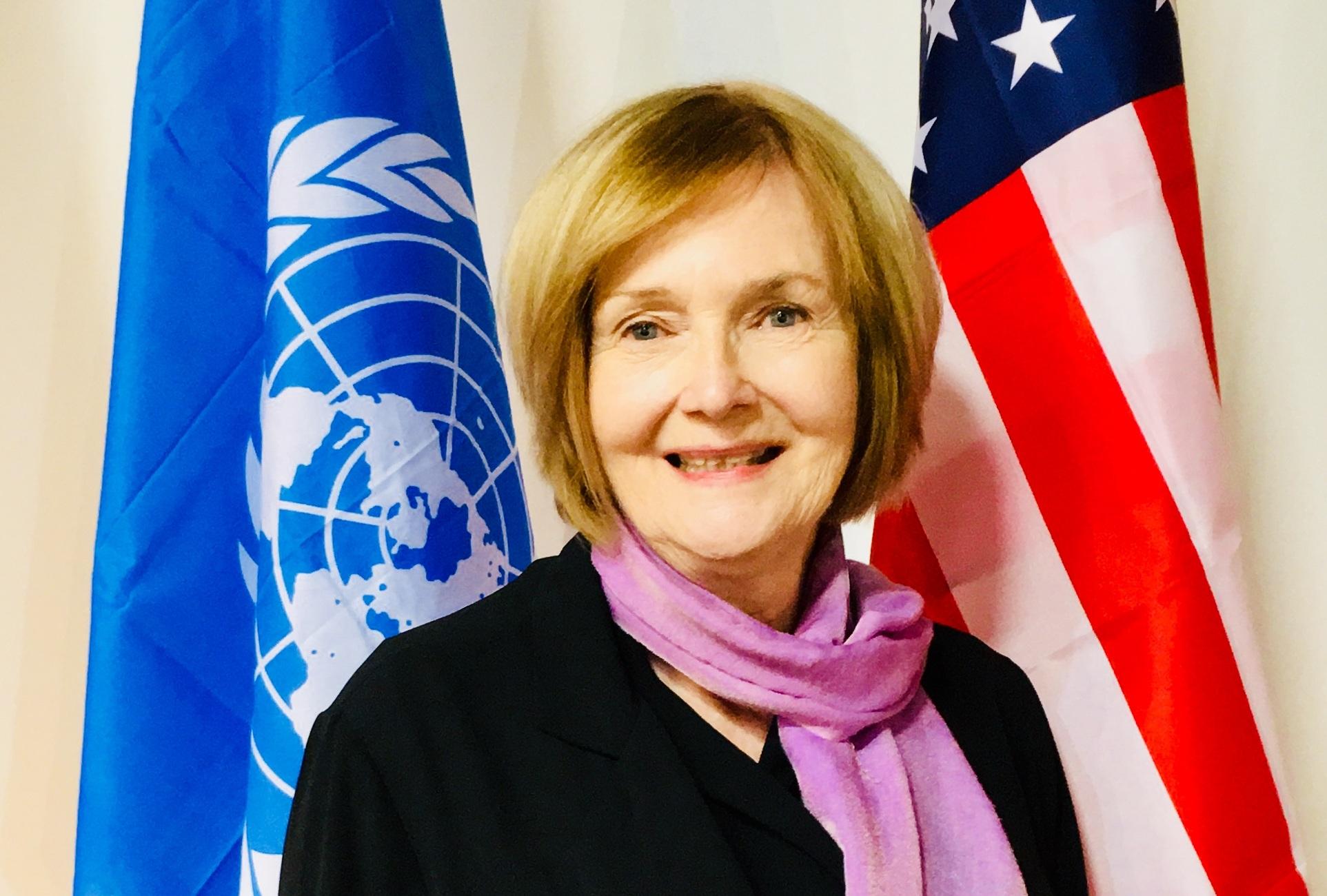 Mary Steiner, President of UNA-SF. Board Member Since 2014.