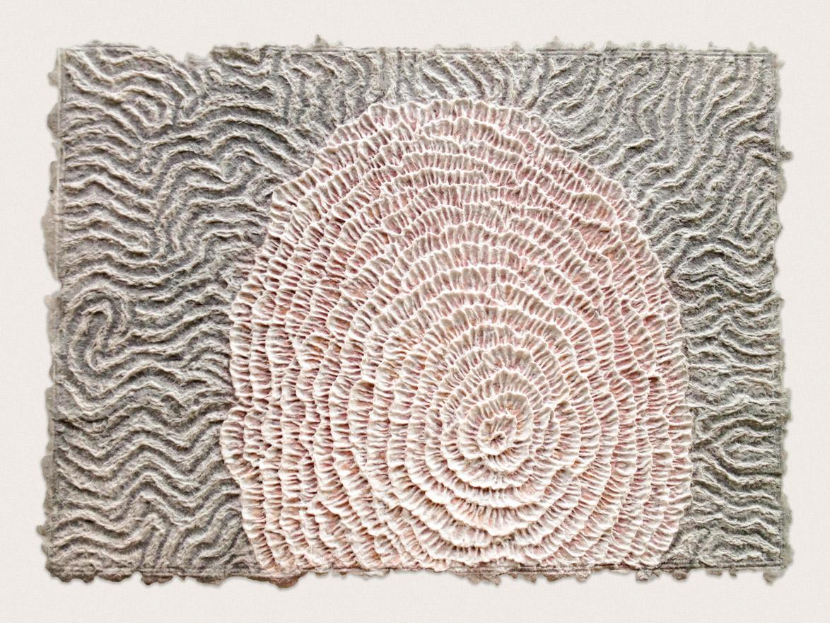 'Reef III'  Watercolour on handmade paper - 46cm x 64cm