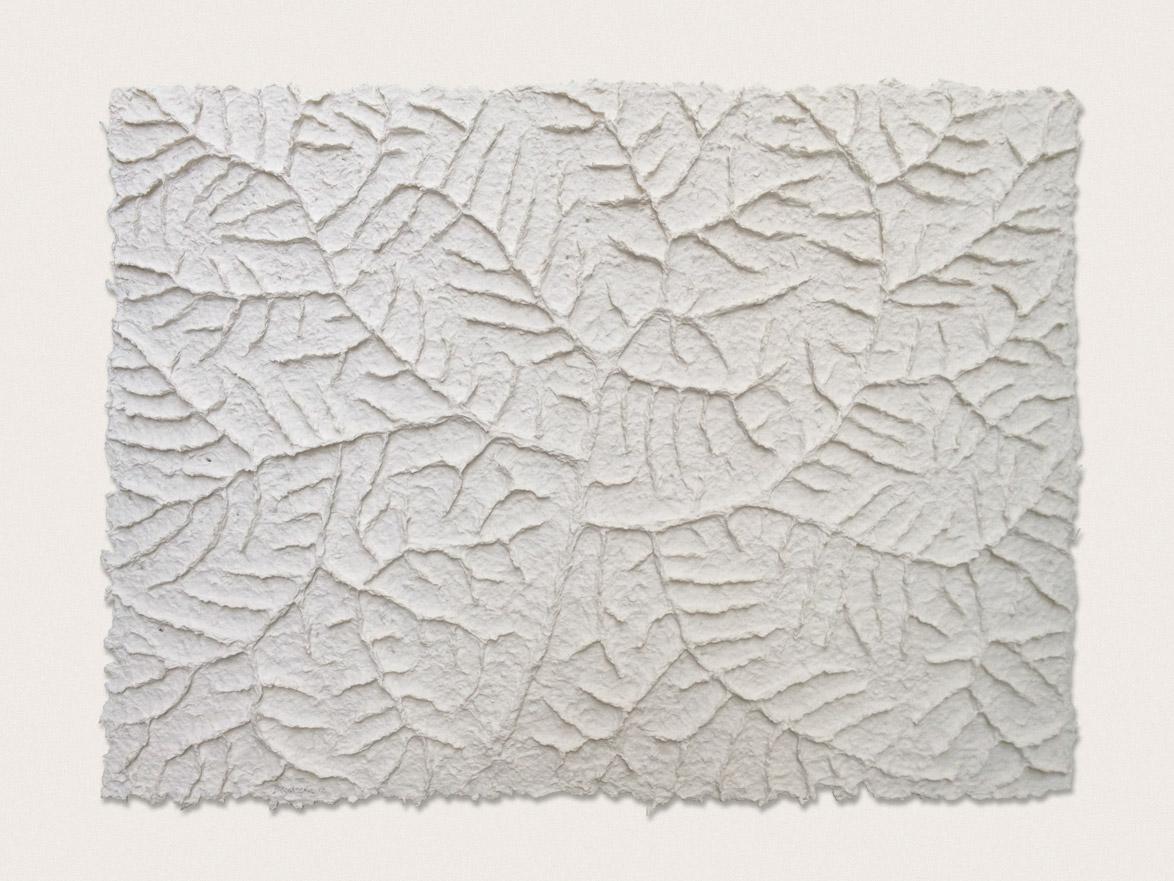 'Still Life I'  Hand formed paper - 45cm x 57cm