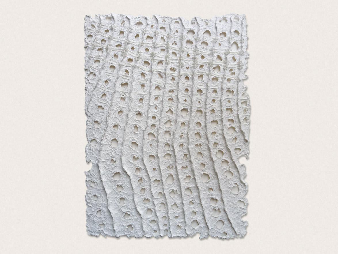 'Still Life III'  Hand formed paper -