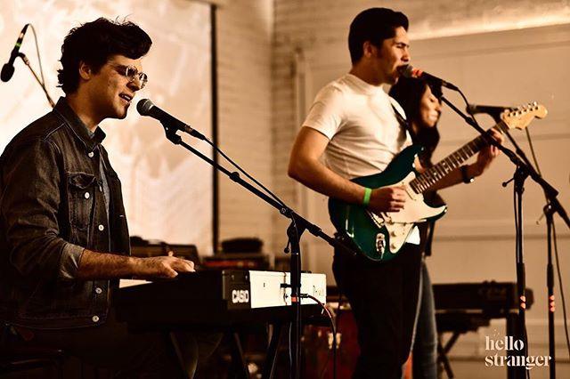 ✨On Stage✨ . . . . . . . . . . . #livemusic #invelvet #onstage #hellostranger #losangeles #la #band #poise #vfunk #fender #stratocaster #harmony #isleybrothers #fortheloveofyou #kcrw #hellostrangerla #chicanosoul #randb #funk #spring #live