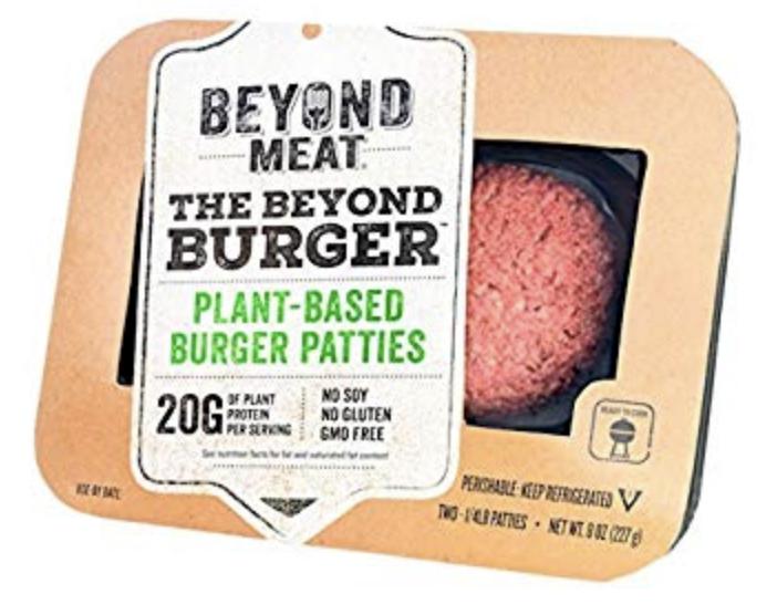 Retrieved from https://www.amazon.com/Beyond-Meat-Burger-0-5/dp/B074YGZ77H