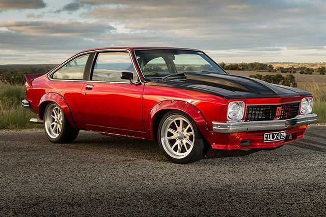 And the Hatch back version of the Torana , never quite as sporty due to its super light rear end but so much fun to drive for the very same reasons ..