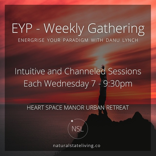 Join us this evening for some quality connection on energy, consciousness and love...🙌 www.naturalstateliving.co/eyp #EnergyConsciousnessLove