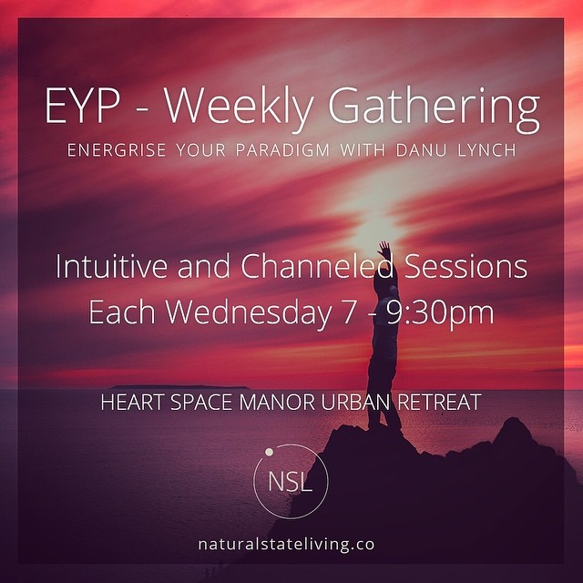 Join us tonight 🙏 We are pleased to share our intuitive and channeled sessions. Danu Lynch - founder of Natural State Living will be holding the gatherings at the beautiful Heart Space Manor Urban Retreat in Bondi Junction. These weekly events are in-person sessions to talk through all things energy, consciousness and love in a relaxing and supportive space for open sharing. The 'intention and vibe' - a comfortable, warm, expansive, natural and relaxed ambience to share the deeper parts of life. Draw energy by being involved with positive human interaction and genuine connection.  Arrive from 6.40pm for a 7pm start..40 spaces are available for each weekly gathering...Tickets available at the door if not sold out prior...Pre-sale purchase recommended...Thanks from the team at Natural State Living 🌴 www.naturalstateliving.co #EnergyConsciousnessLove  #NaturalStateLiving #EnergiseYourParadigm #TheEnergyOfLove