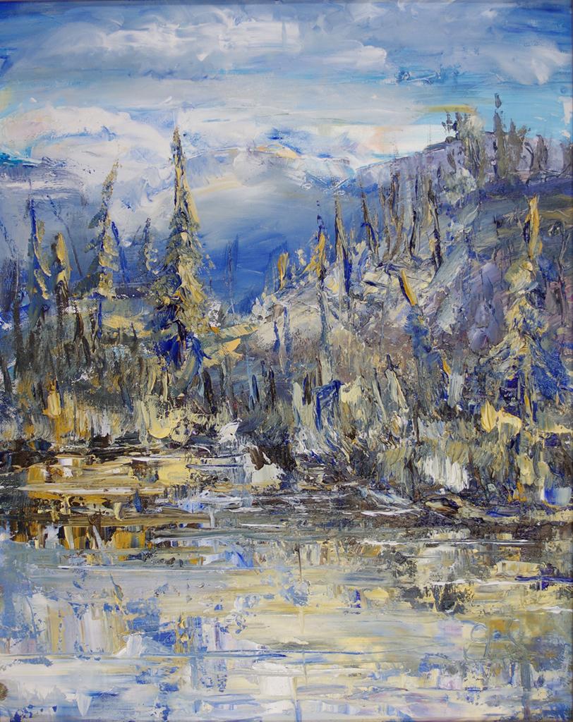 1052_Landscape_Mountain&Pines_Blue&Ochre.jpg