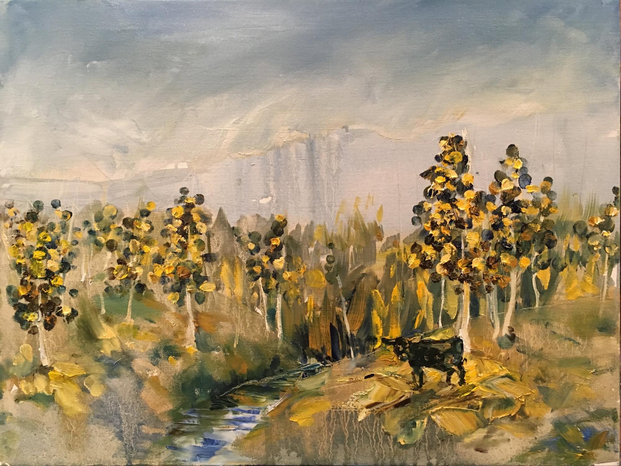 "Gunnison painting (24"" x 18"")"