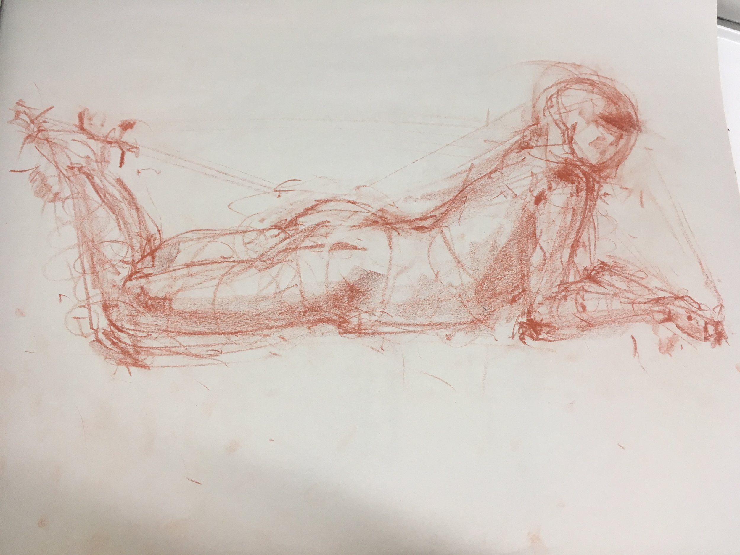 sketch done at art students league -