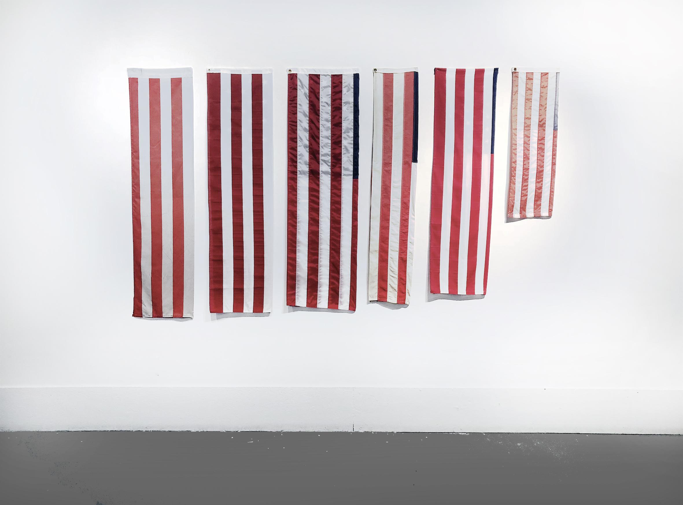 Mano Penalva , Desvio Vermelho e Branco, 2018, 158 x 265 cm Foto: Camila Crivelenti (Hasta Tepito/ NY)