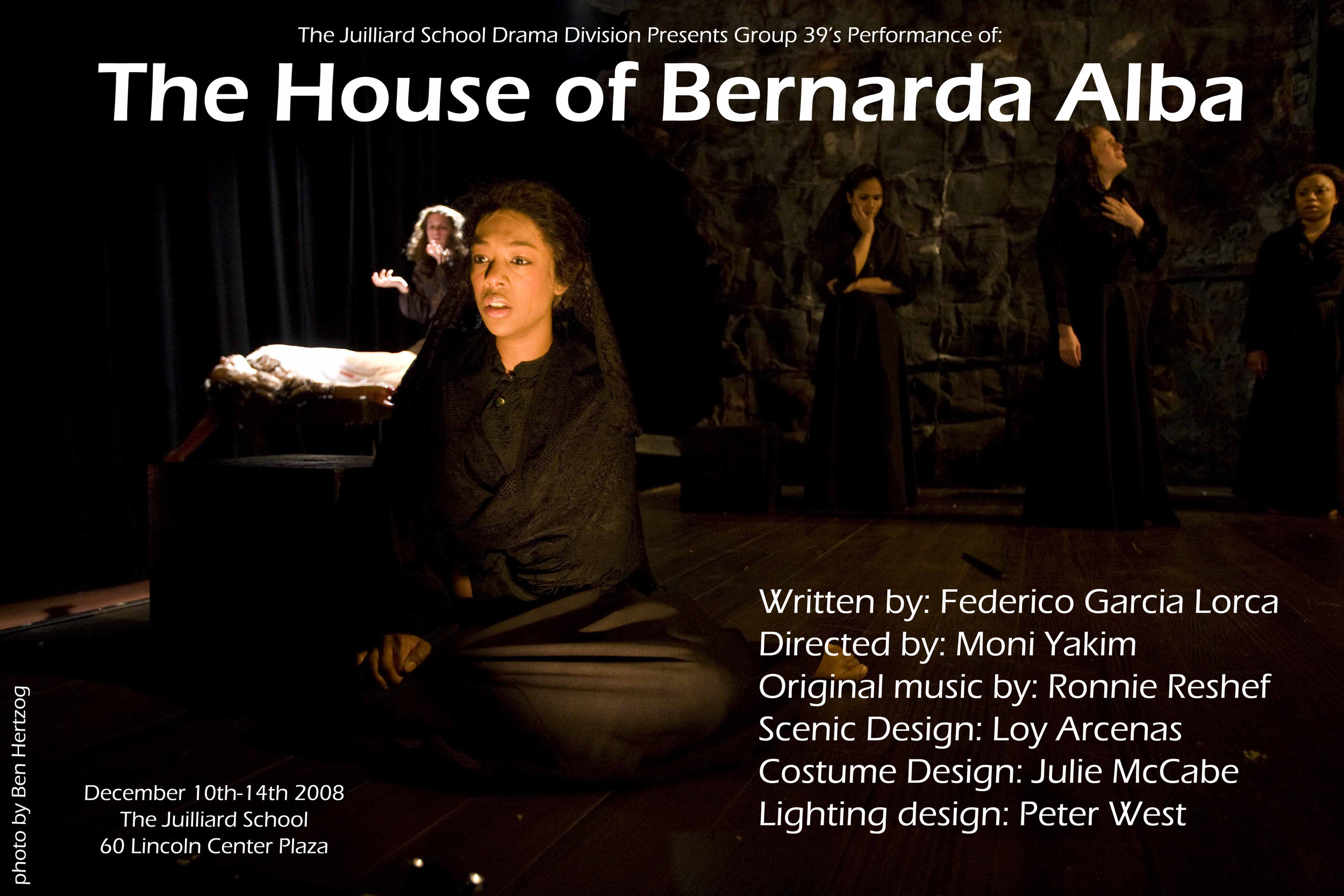 The House of Bernarda Alba - Juilliard Drama School