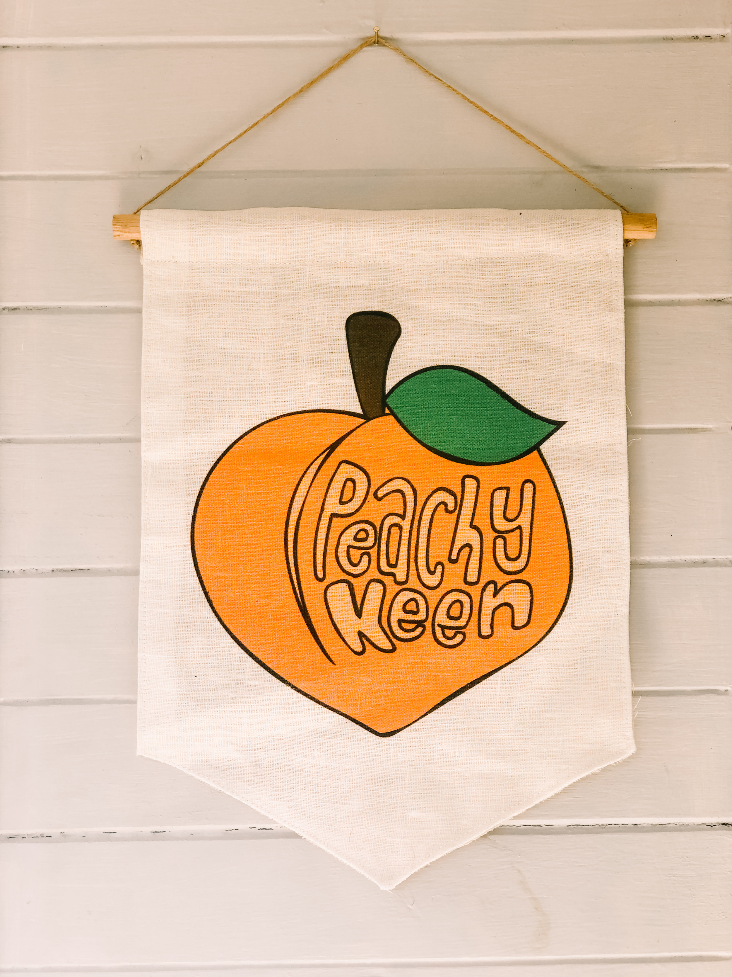 The Oopsy Daisy Co - Wall Hangings - Peachy Keen