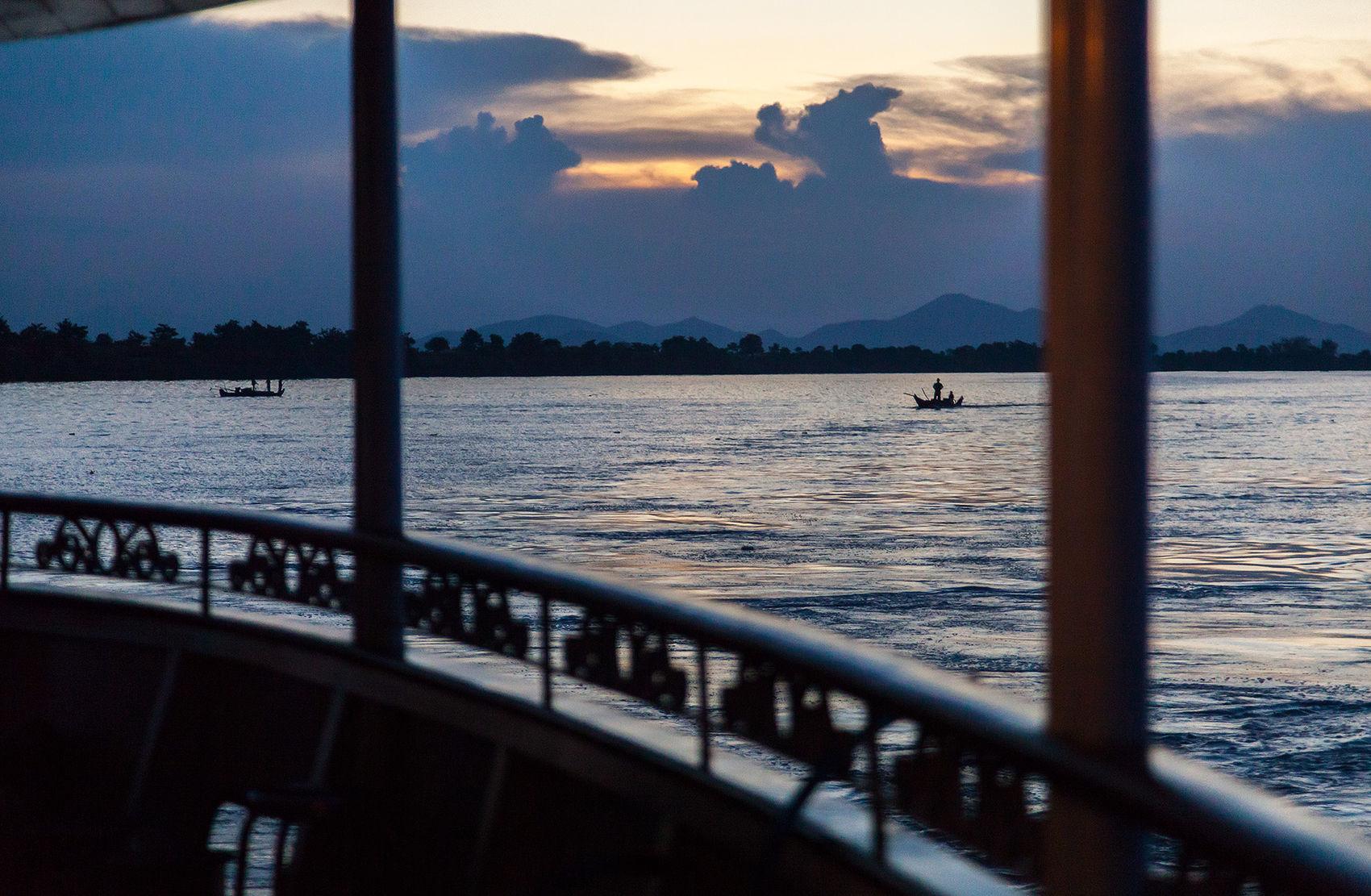 Mekong Dusk
