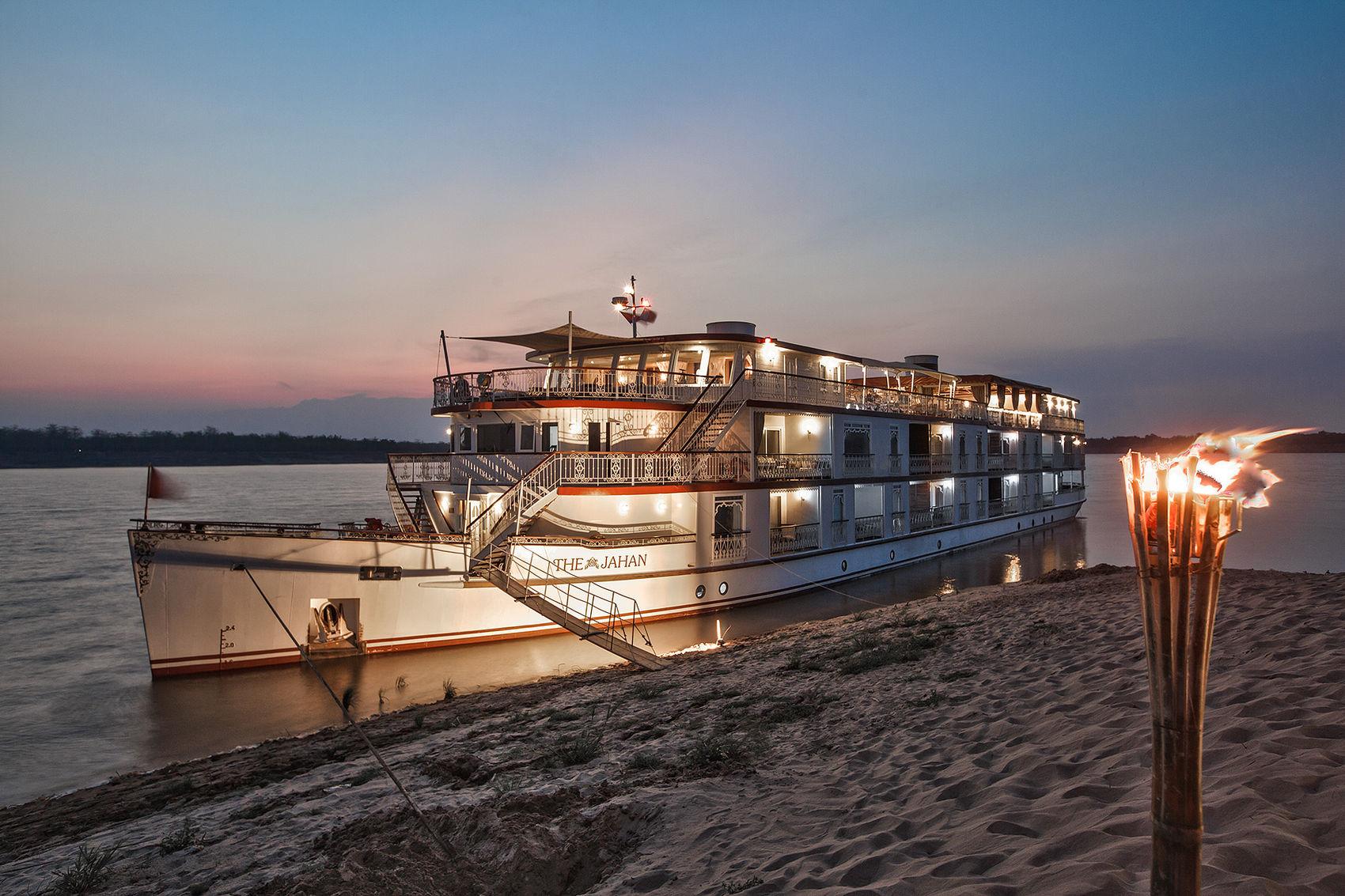 Mekong sand bar