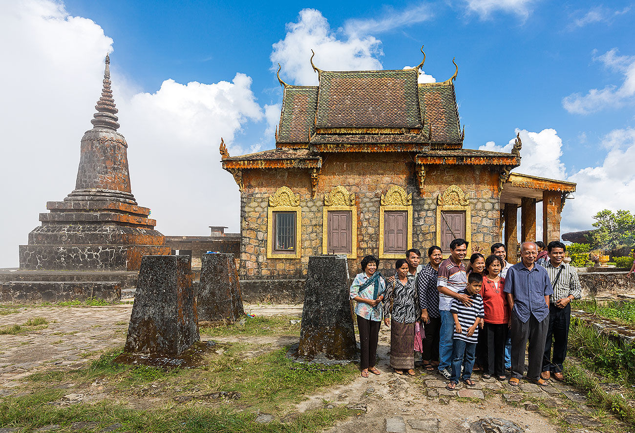 Family Portrait at the Wat