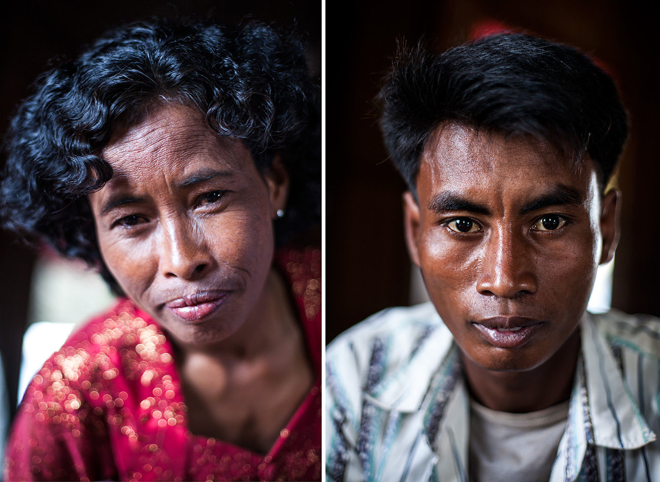 Mother and Son Kandal Cambodia