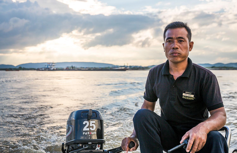 Burmese Sailor Irrawaddy Myanmar
