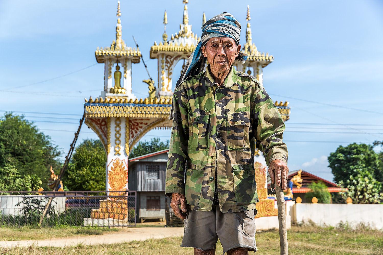 Northern Laos near the Mekong