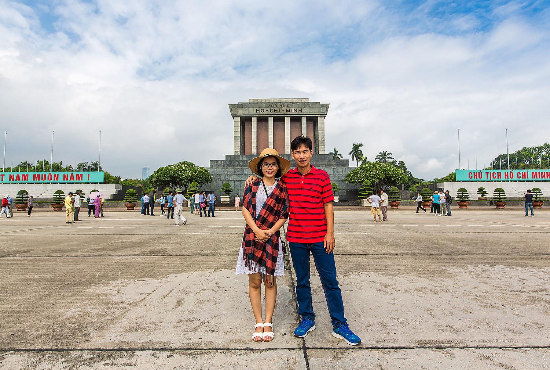 Couple Hanoi VN