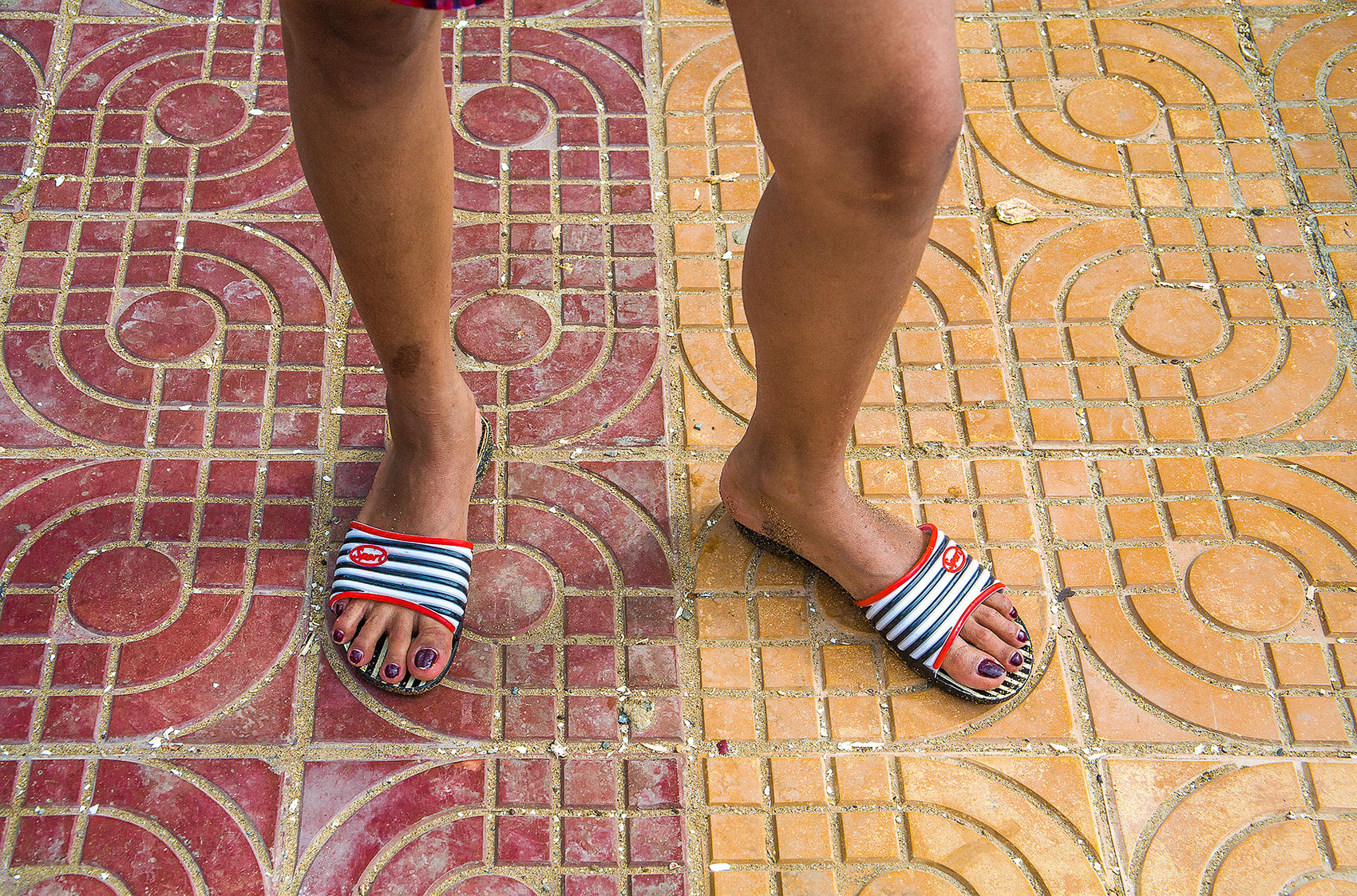 Sporty Flip Flop Kep Cambodia