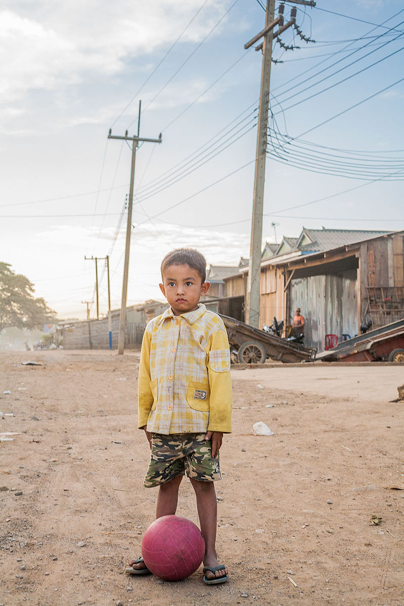 Ball Boy Pailin Cambodia