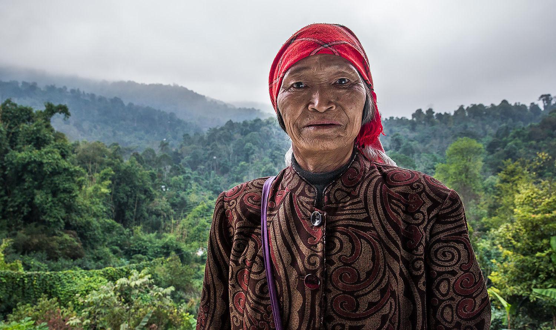 Tea Farmer Yunnan China
