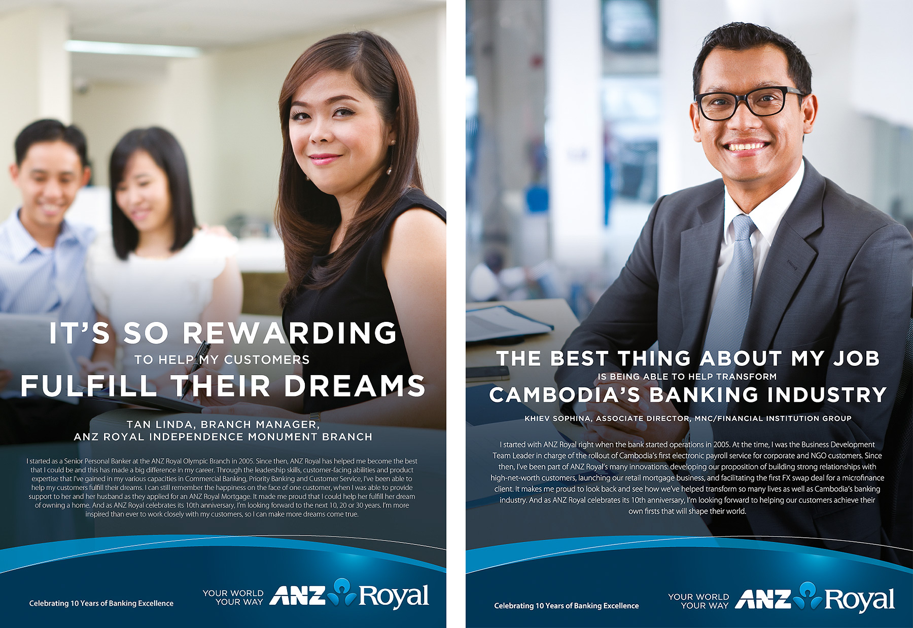ANZ Royal Staff