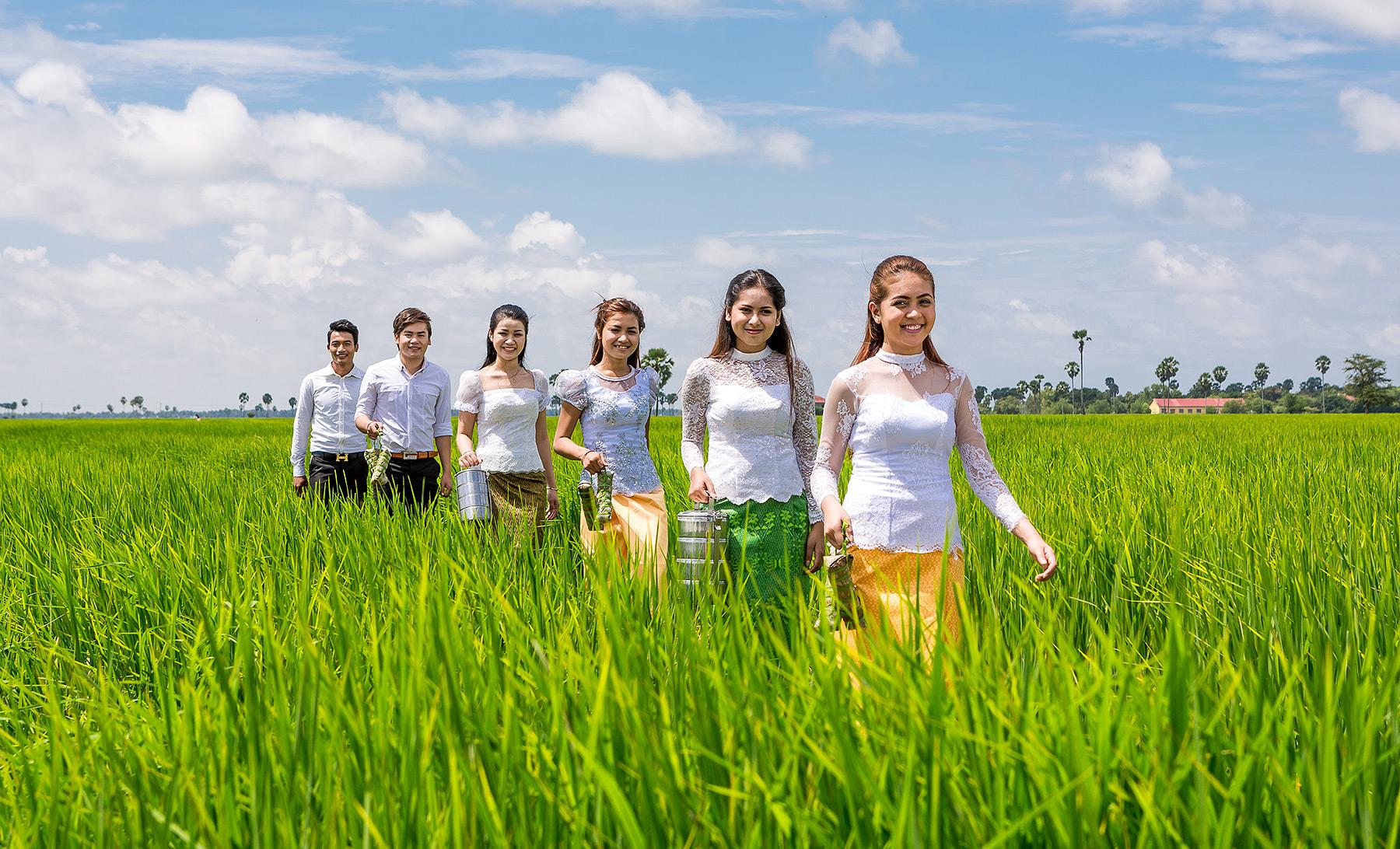 Amret Microfinance Calendar cambodia