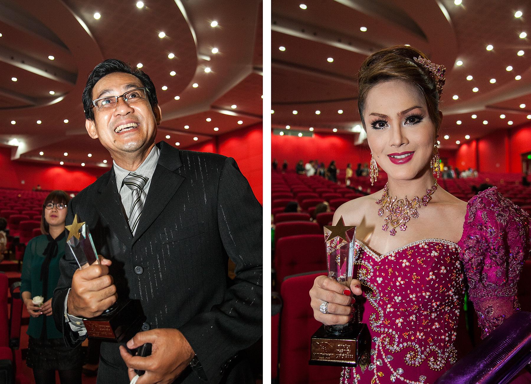Tep Rindaro, Popy, Cambodian Oscars Phnom Penh
