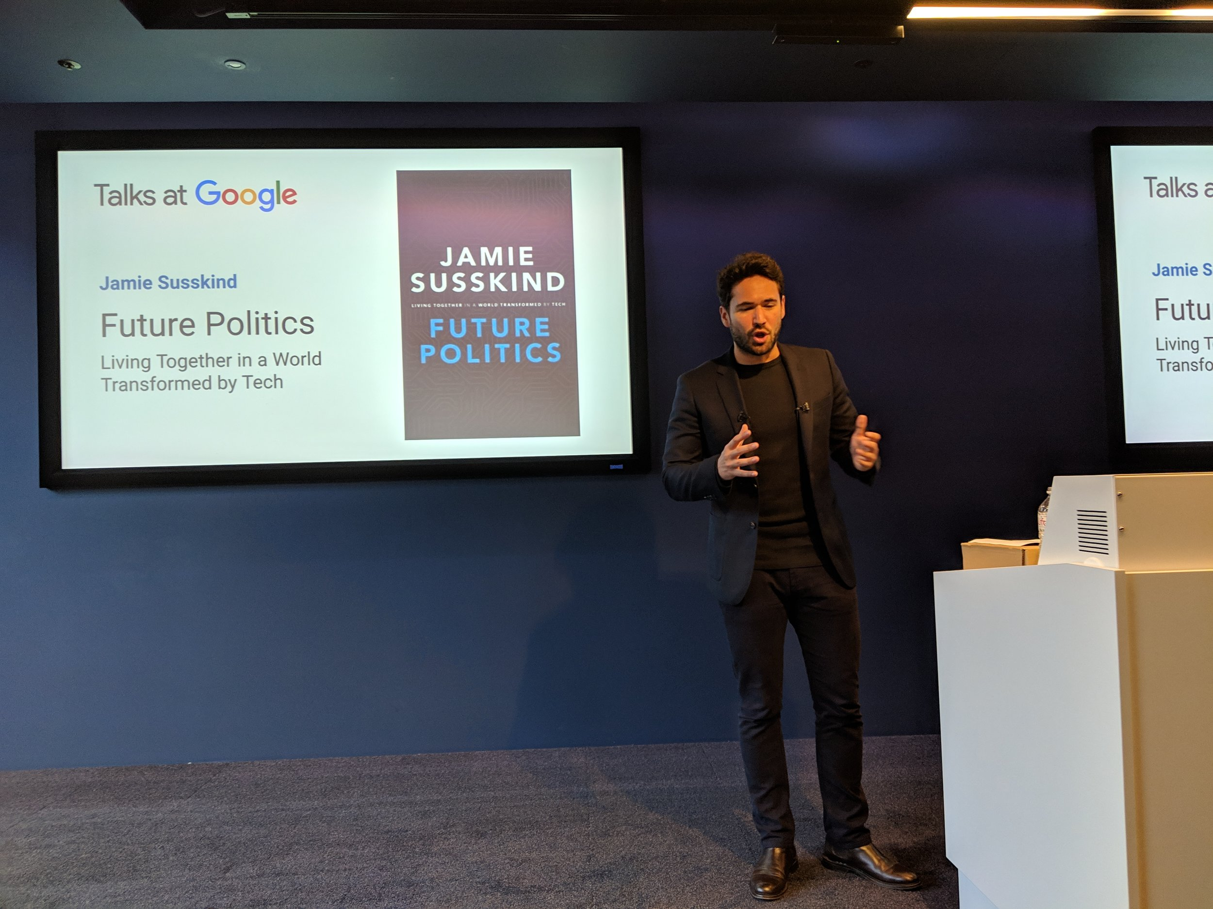Google Talk, London, 2018
