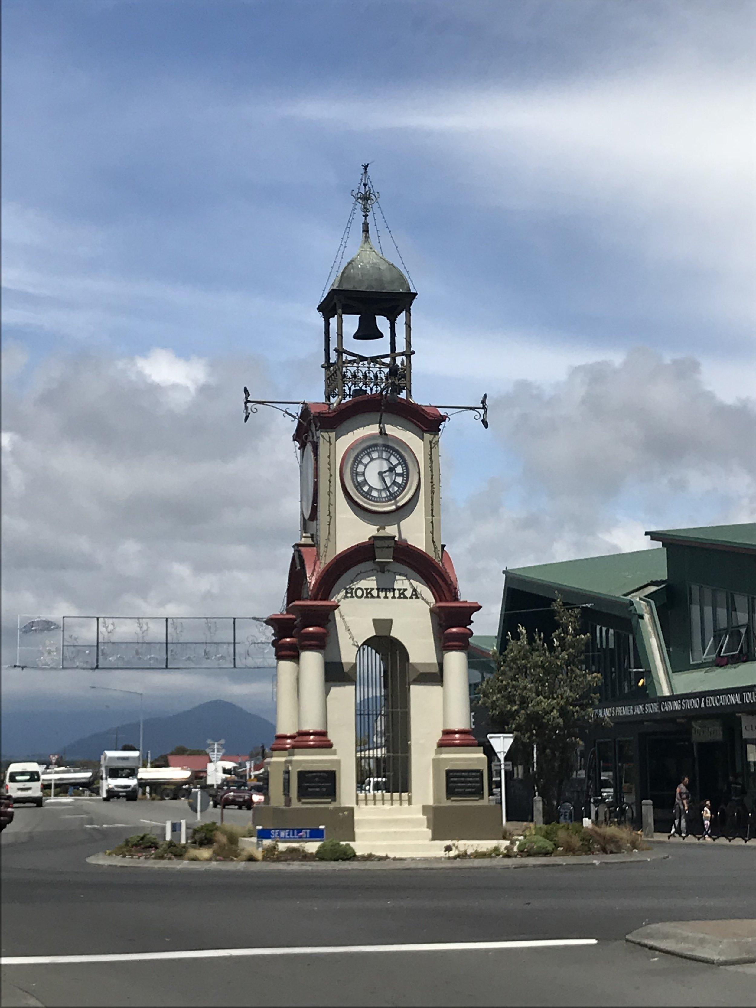Hokitika town centre